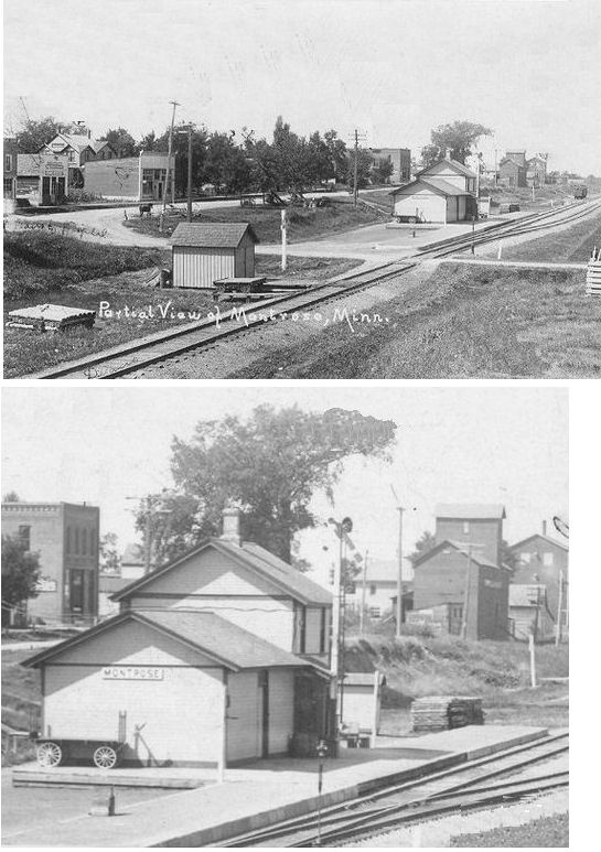 All The Girls Standing In The Line For The Bathroom: Wright County Minnesota Railroad Stations