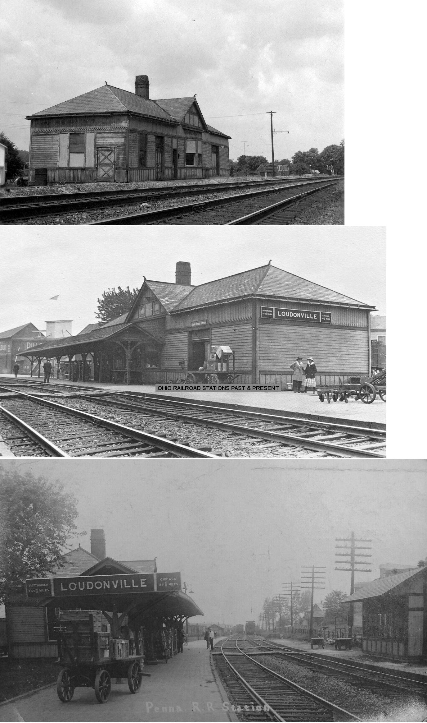 Ashland County Ohio Railroad Stations
