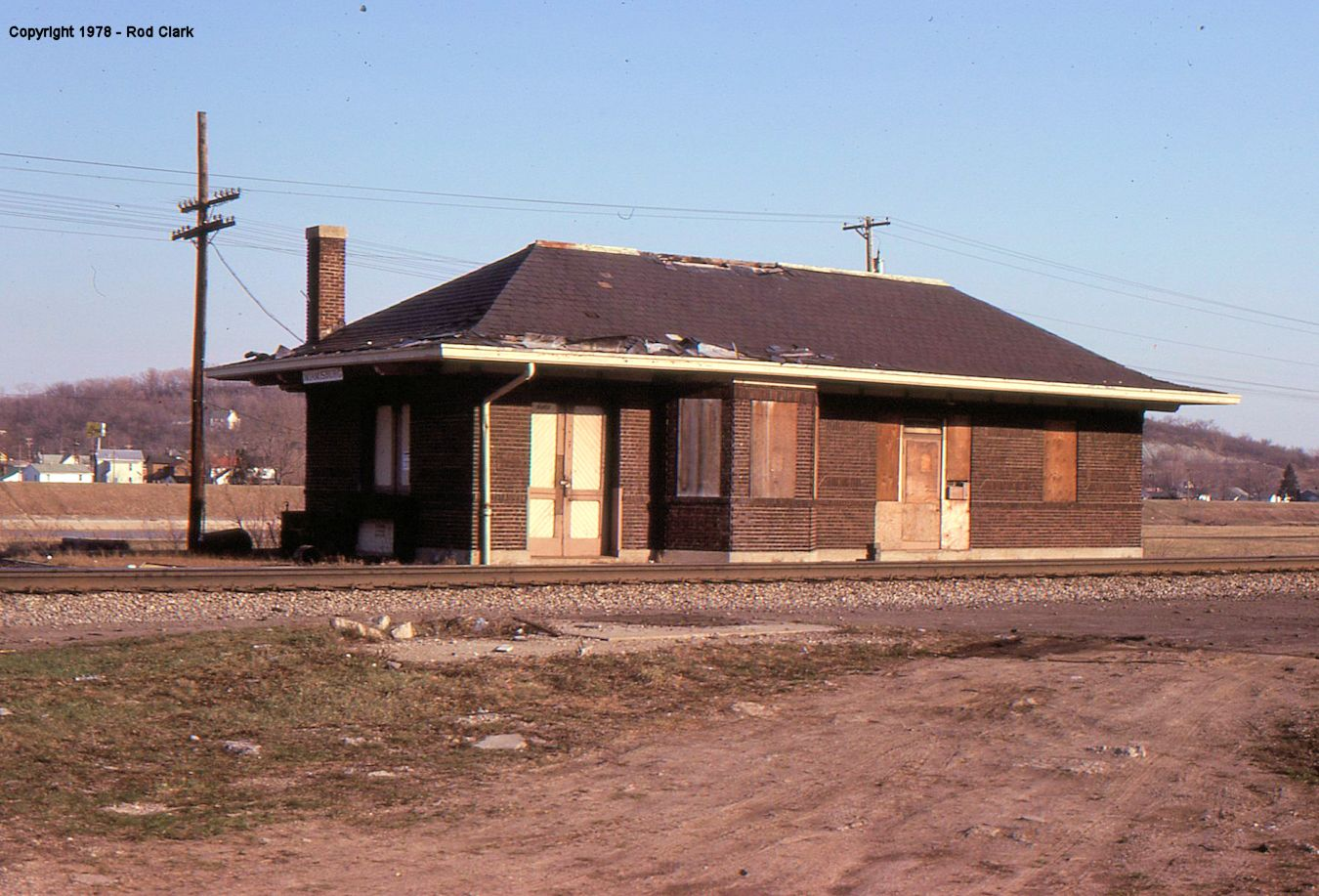 Montgomery county ohio railroad stations for Depot linden