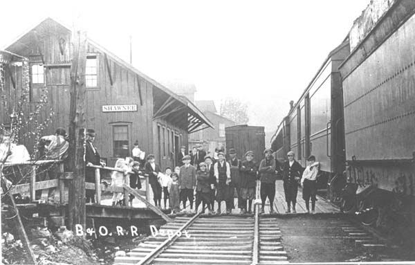 Perry County Ohio Railroad Stations
