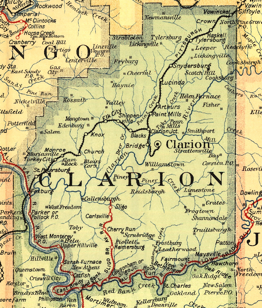 Clarion University « Every County on