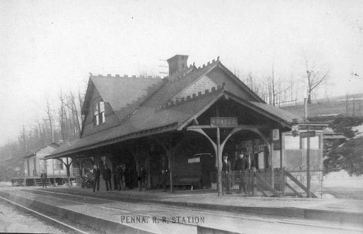 Chester County Pennsylvania Railroad Stations