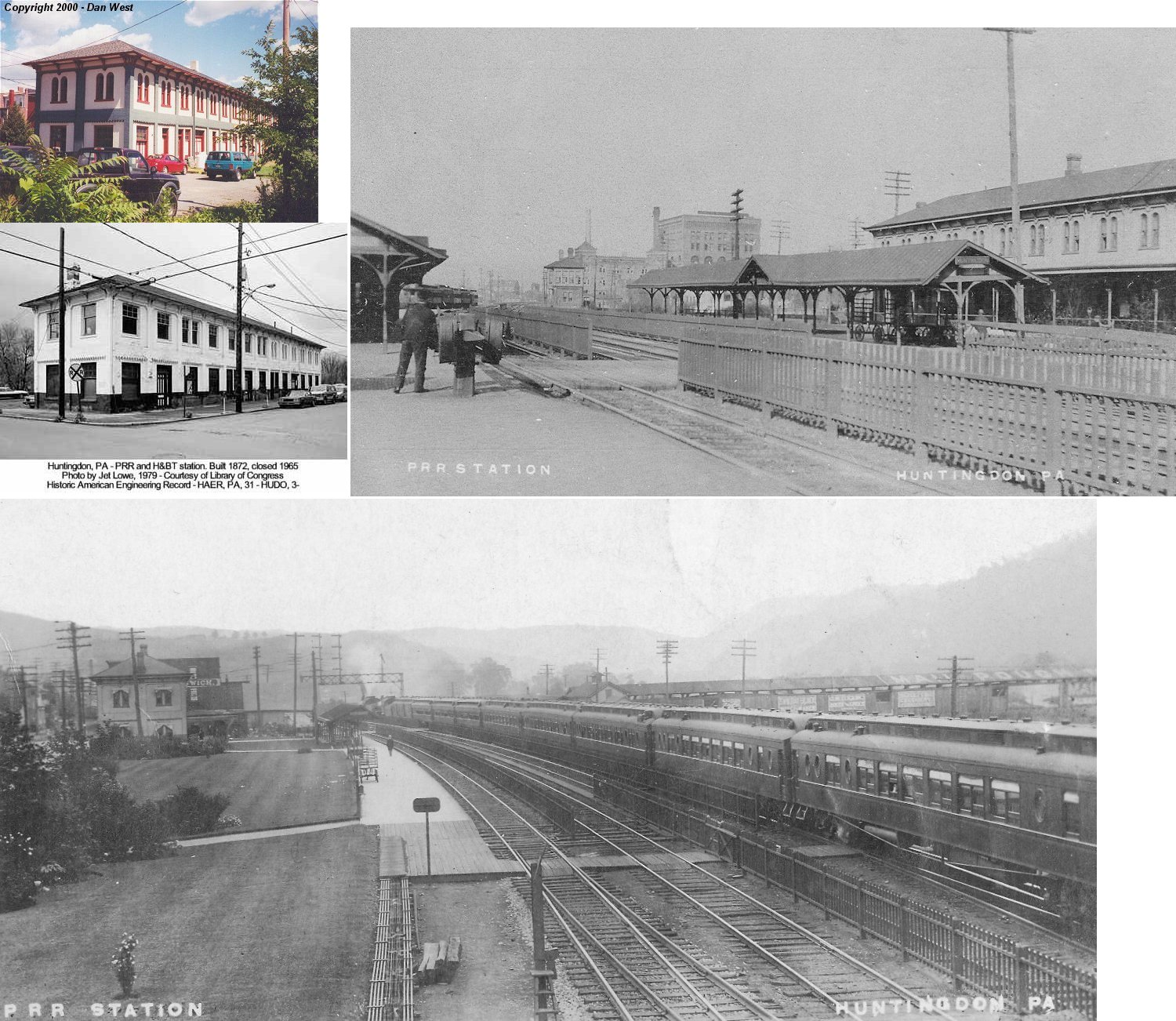 East Petersburg Pa >> Huntingdon County Pennsylvania Railroad Stations