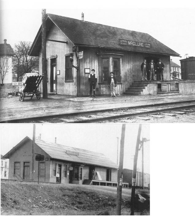 Snyder County Pennsylvania Railroad Stations