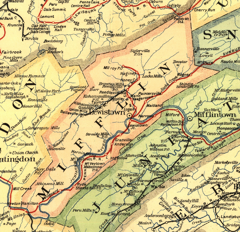 The Tale of the Pennsylvania Midland:Setting The Stage