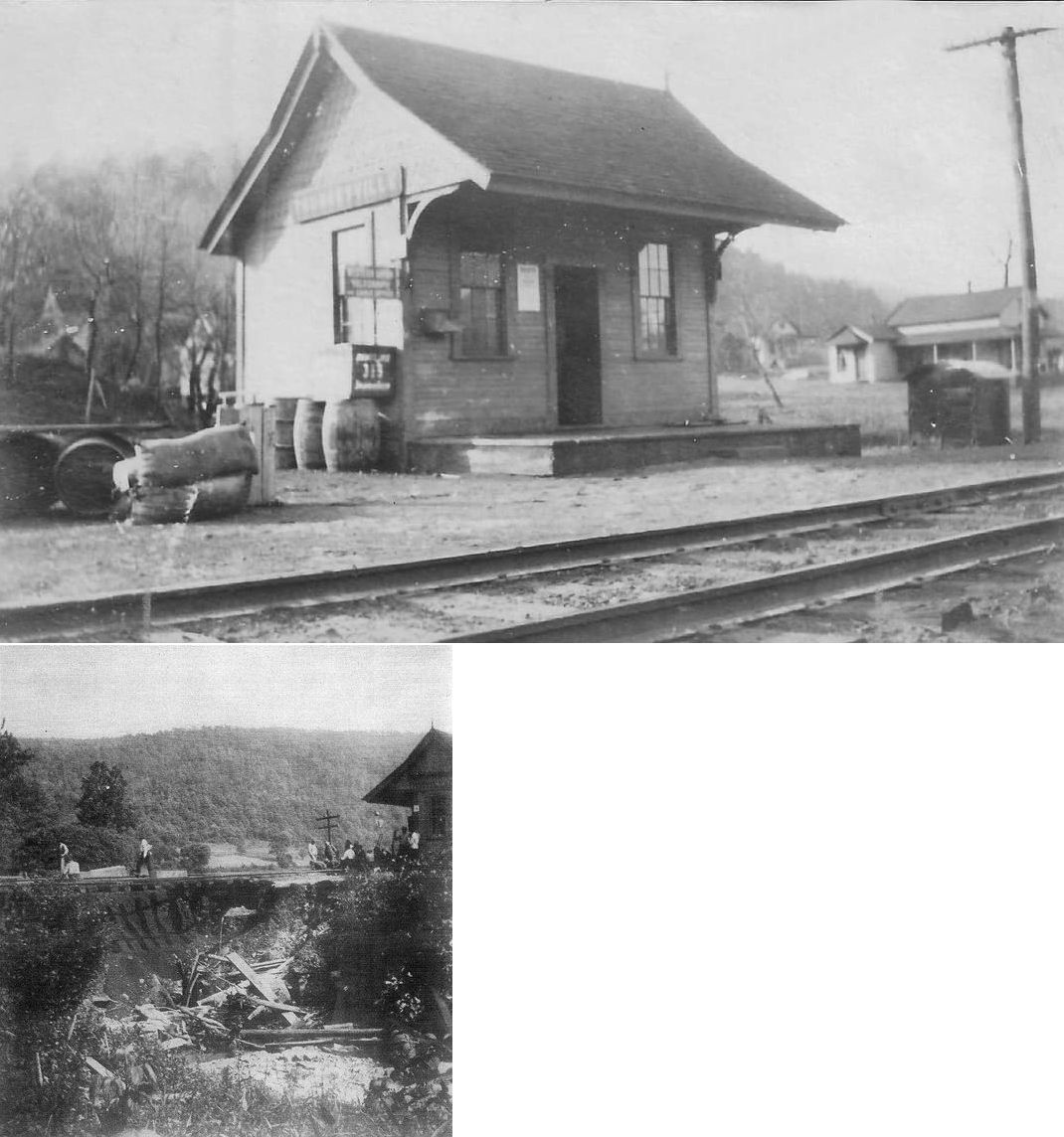 The Summit Reno >> Forest County Pennsylvania Railroad Stations