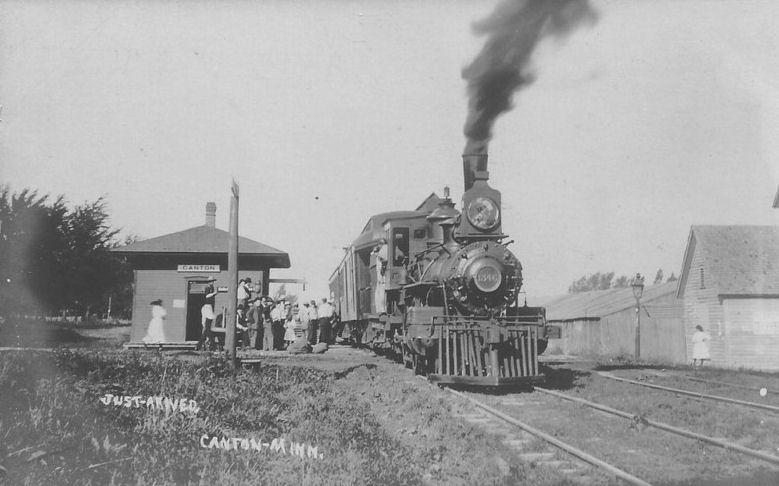 Fillmore County Minnesota Railroad Stations