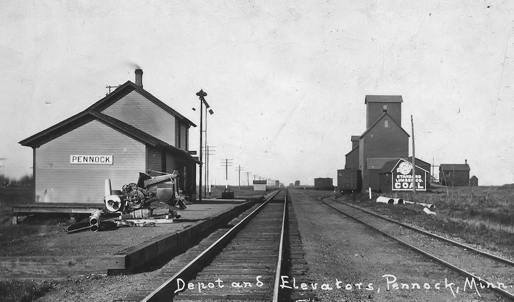 Kandiyohi County Minnesota Railroad Stations