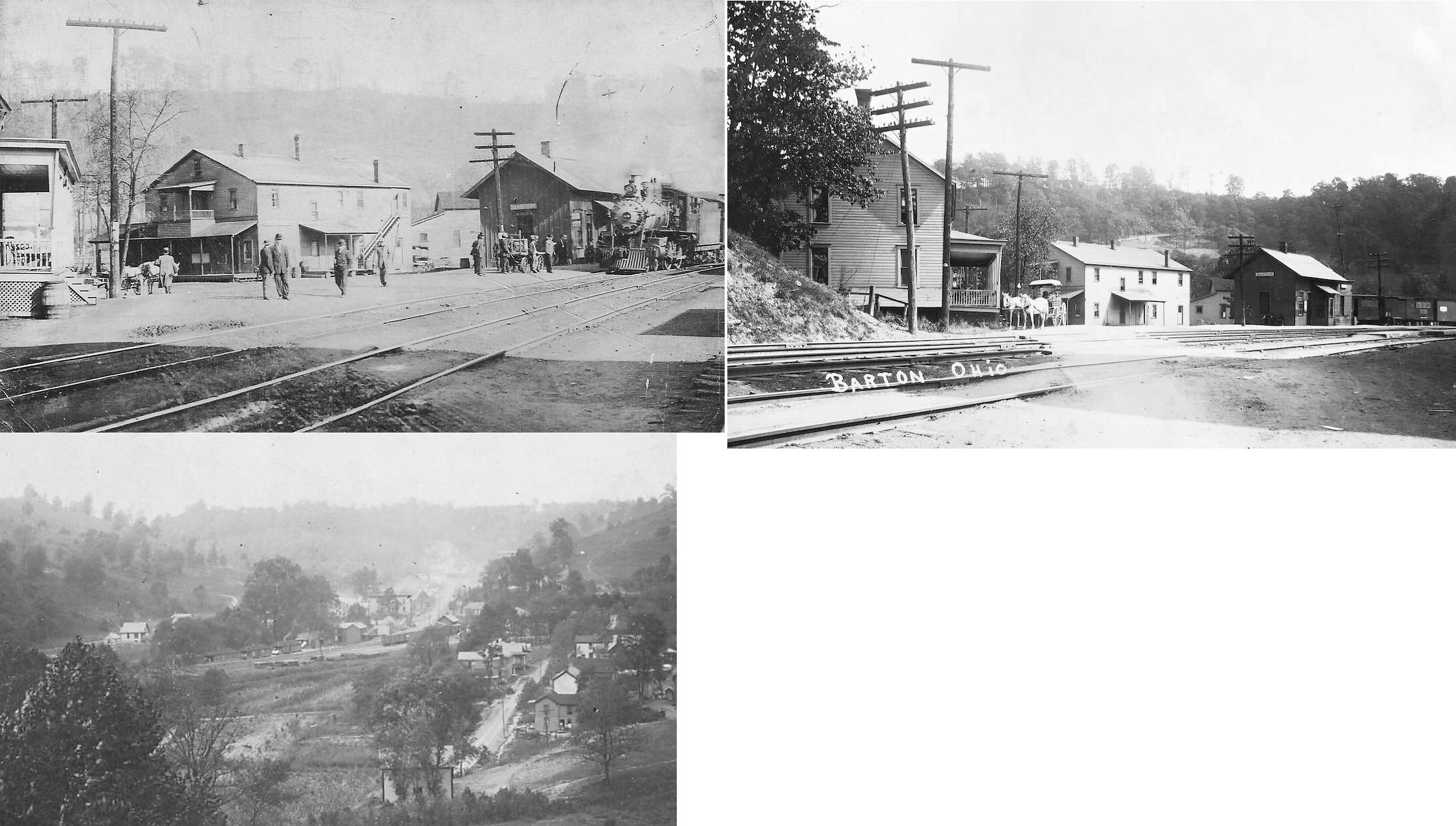 Belmont County Ohio Railroad Stations