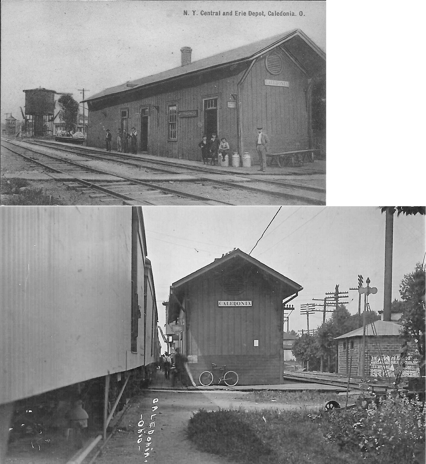 Marion County Ohio Railroad Stations