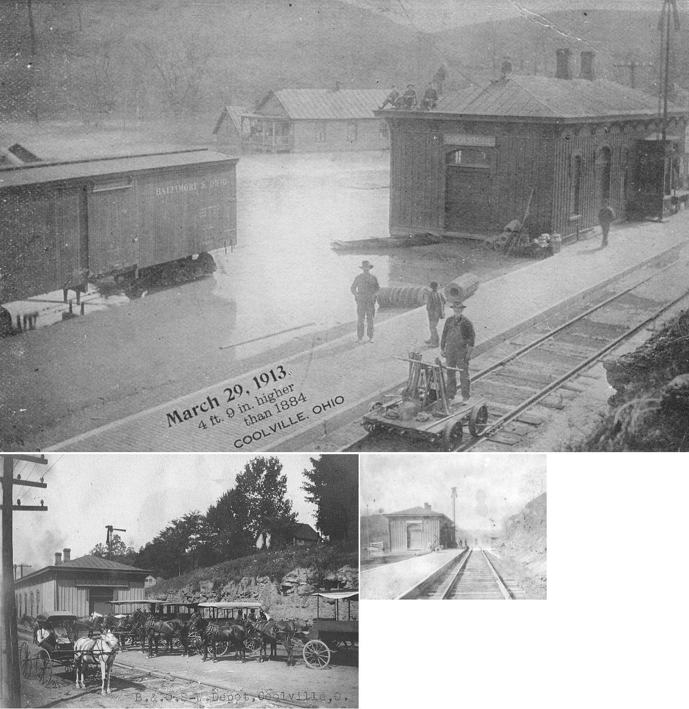 Athens County Ohio Railroad Stations
