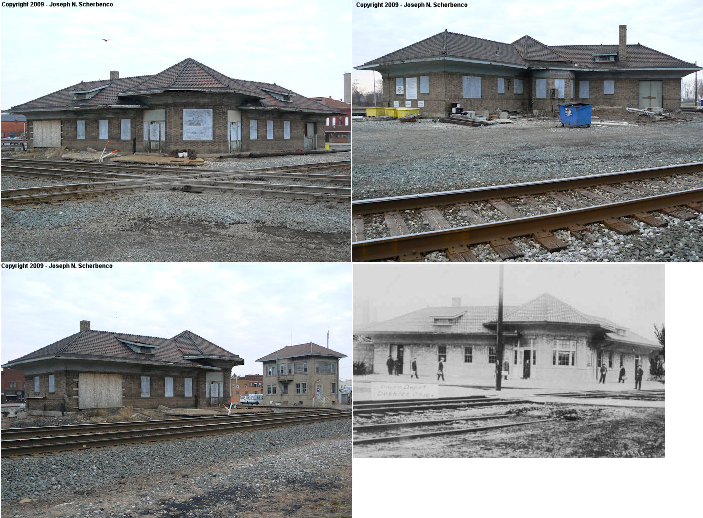 Henry County Ohio Railroad Stations