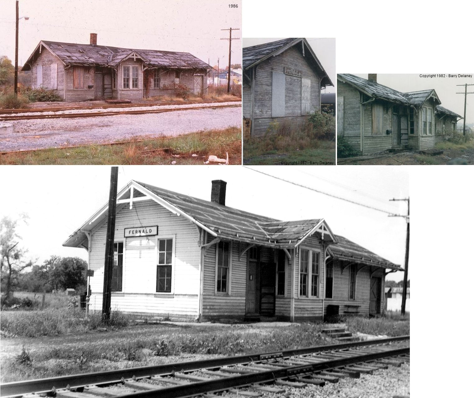 Hamilton County Ohio Railroad Stations