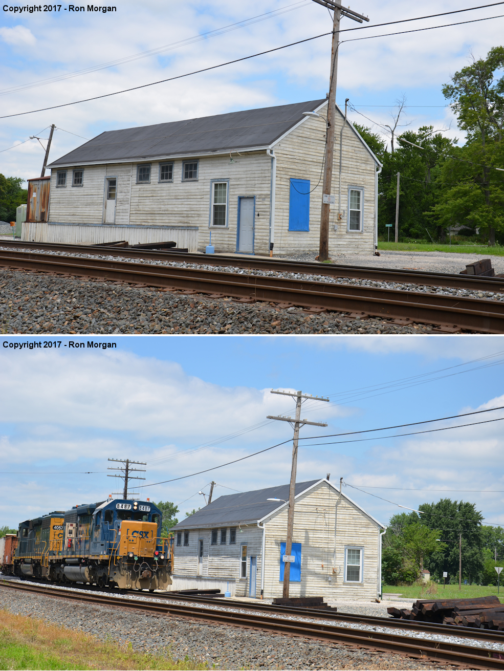 Seneca County Ohio Railroad Stations