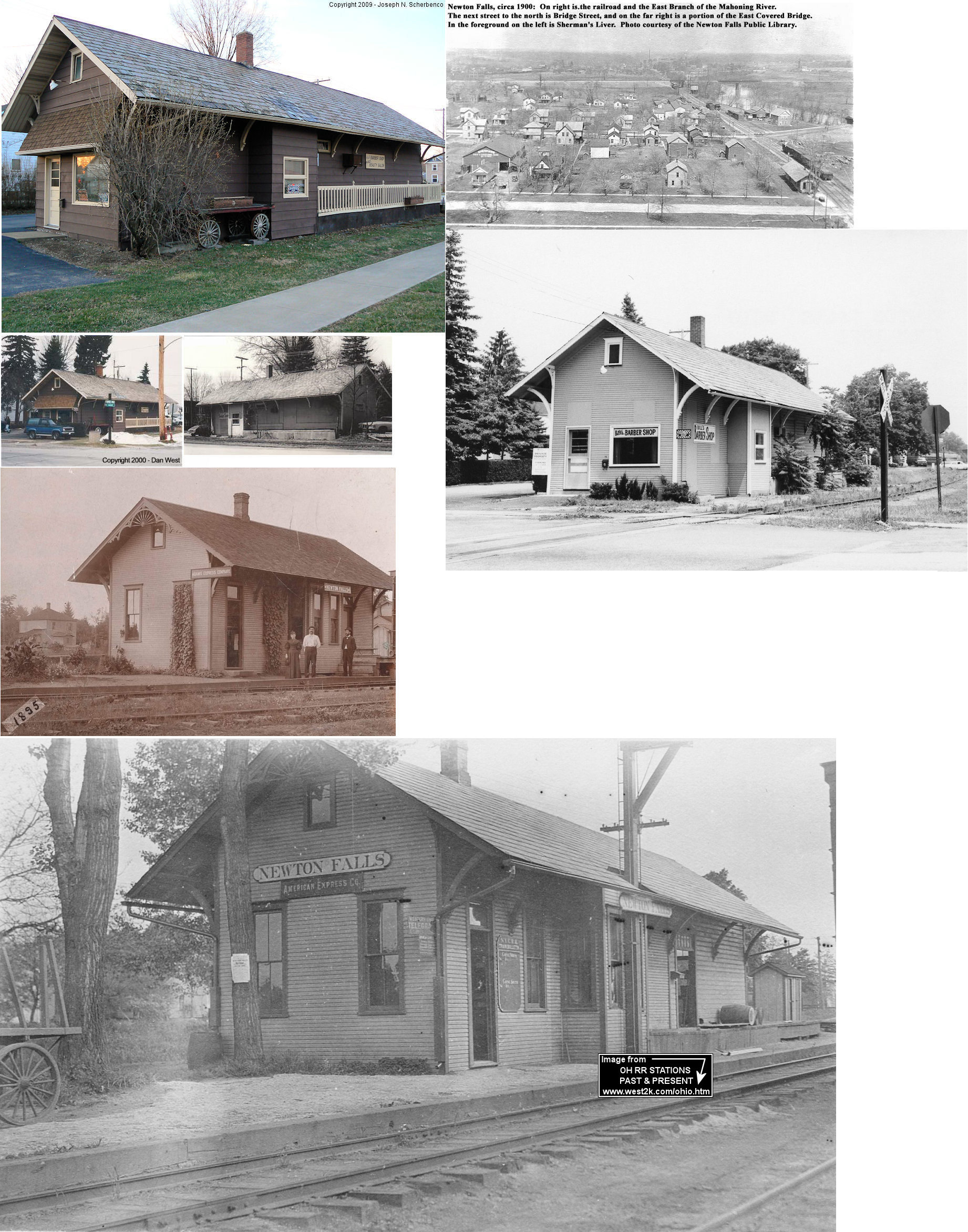 Trumbull County Ohio Railroad Stations
