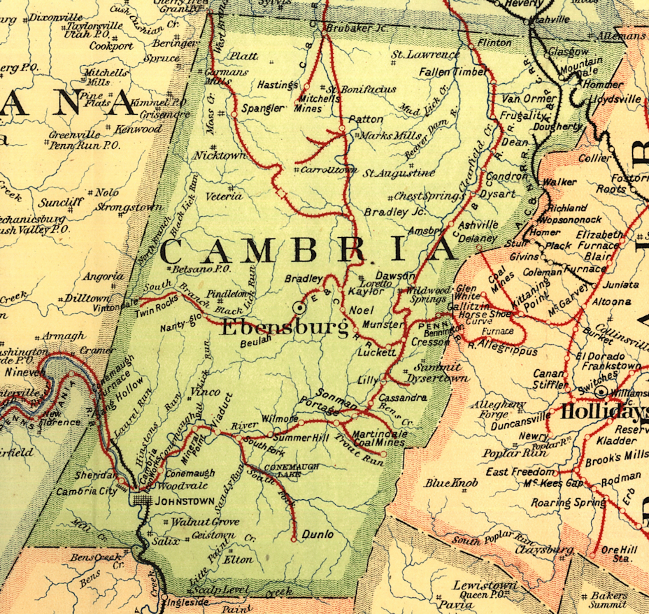 Cambria County Pennsylvania Railroad Stations on antrim pa map, smicksburg pa map, limerick pa map, marion center pa map, dublin pa map, green township pa map, norfolk pa map, new florence pa map, young township pa map, northumberland pa map, durham pa map, beaver pa map, middlesex pa map, letterkenny pa map, lucerne mines pa map, johnstown pa map, glasgow pa map, lurgan pa map, salisbury pa map, cornwall pa map,