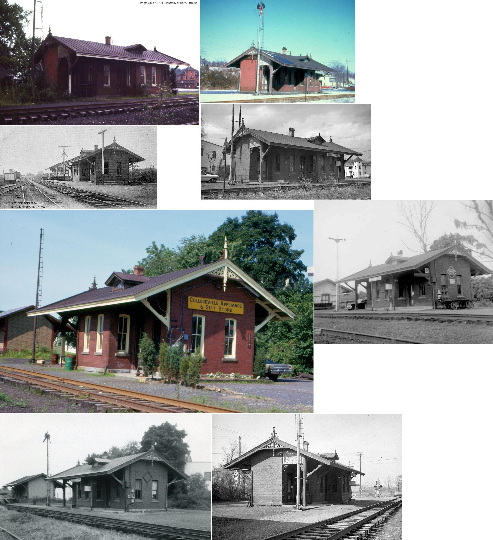 Montgomery County Pennsylvania Railroad Stations