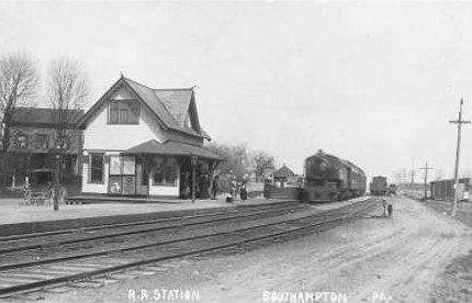 Bucks County Pennsylvania Railroad Stations